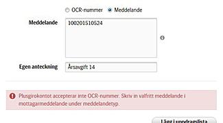 """""""OCR"""" rätt"""
