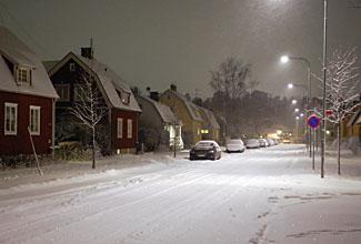 snöig Kanslersväg